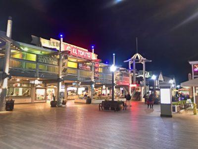 Redondo pier at night